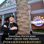 Jonathan Poche wins WSOP Circuit New Orleans