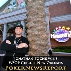 Jonathan Poche wins WSOP Circuit New Orleans