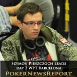 Szymon Pieszczoch in Pole Position at WPT Barcelona