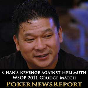 Johnny Chan WSOP 2011 Grudge Match
