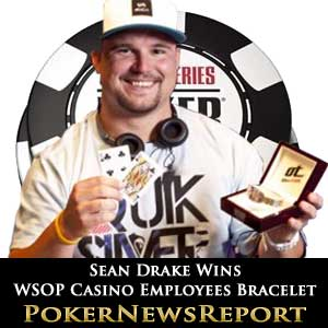 Sean Drake Picks Up WSOP Casino Employees Bracelet 2011