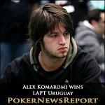 Alex Komaromi Wins LAPT Uruguay
