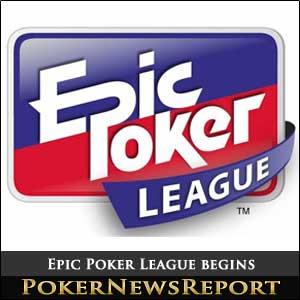 Epic Poker League Begins in Vegas