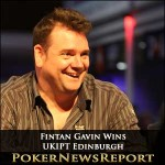Fintan Gavin Wins UKIPT Edinburgh