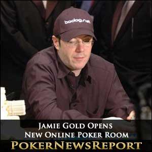 Jamie Gold Opens New Online Poker Room