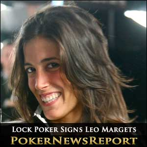 Lock Poker Signs Leo Margets