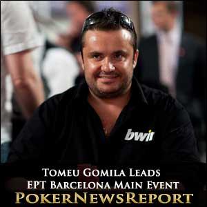 Tomeu Gomila Leads EPT Barcelona Main Event