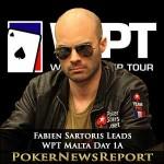 Fabien Sartoris Leads WPT Malta Day 1A