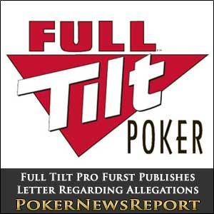Full Tilt Pro Rafe Furst Open Letter