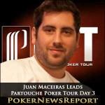 Juan Maceiras Leads Partouche Poker Tour Day 3