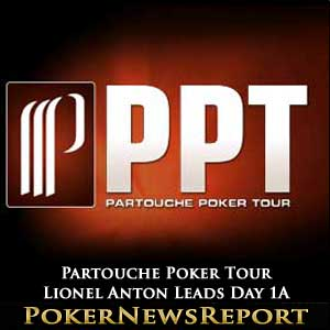 Partouche Poker Tour – Lionel Anton Leads Day 1A