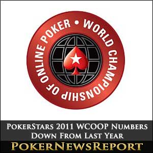 PokerStars 2011 WCOOP Numbers Down From Last Year