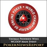 Thomas Pedersen Wins WCOOP Main Event