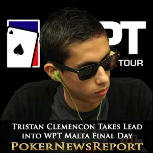 Tristan Clemencon Takes Lead into WPT Malta Final Day
