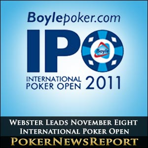 Internation Poker Open 2011