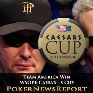 Team America Win WSOPE Caesar´s Cup