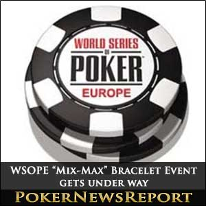 WSOPE Mix-Max Bracelet Event