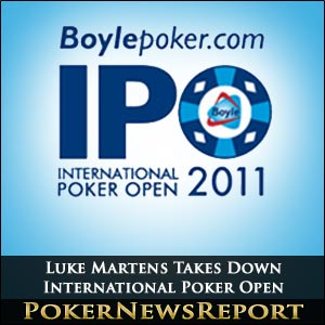 International Poker Open 2011