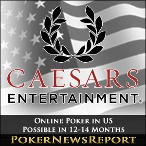 Online Poker in US Possible in 12-14 Months