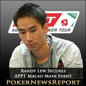 Randy Lew Secures APPT Macau