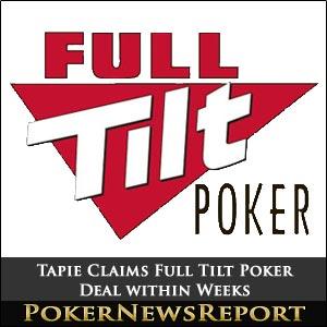 Tapie Claims Full Tilt Poker Deal within Weeks