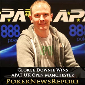 George Downie Wins APAT UK Open Manchester
