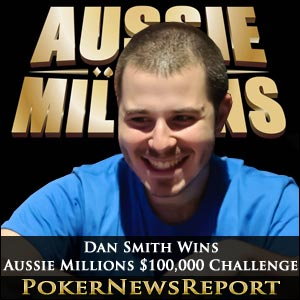 Dan Smith Wins Aussie Millions