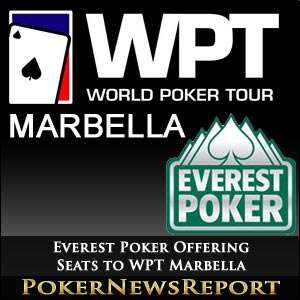 Everest Poker Offering Seats to WPT Marbella