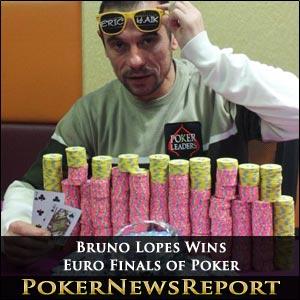 Bruno Lopes Wins Euro Finals of Poker