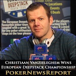 Christiaan Vanzieleghem Wins European Deepstack Championship