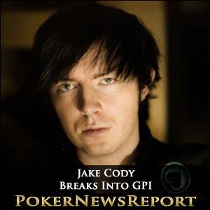 Jake Cody Breaks Into Global Poker Index