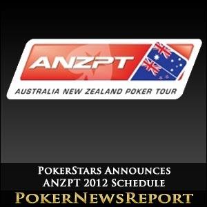 PokerStars Announces ANZPT 2012 Schedule