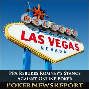 PPA Rebukes Romney's Stance Against Online Poker