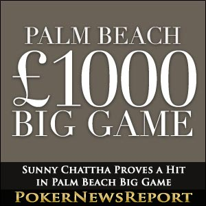 Sunny Chattha Proves a Hit in Palm Beach Big Game