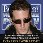 Bertrand Grospellier Latest Pro to Join PartyPoker Premier League V