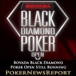 Bovada Black Diamond Poker Open Still Running