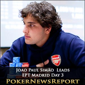 Arsenal Fan Shows Poker Pros How It´s Done in Madrid EPT Day 3