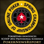 PokerStars' Provisional Schedule Announced For SCOOP 2012