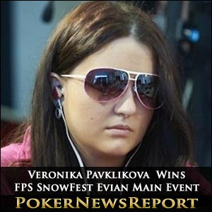 Teenager Veronika Pavklikova Wins FPS SnowFest Evian Main Event