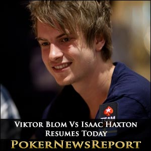 Isaac Haxton and Viktor Blom Resume SuperStar Showdown Today