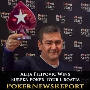 Alija Filipovic Wins Eureka Poker Tour Croatia