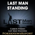 Carbon Poker's Last Man Standing Promo Kicks Off On Tuesday
