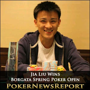 Jia Liu Wins Borgata Spring Poker Open
