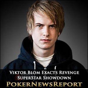 Viktor Blom Exacts Revenge in Latest PokerStars SuperStar Showdown