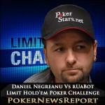 Daniel Negreanu Vs rUaBot – Limit Hold'em Poker Challenge