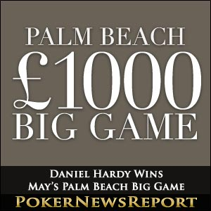 Daniel Hardy Wins May's Palm Beach Big Game
