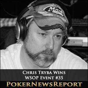 Phil Ivey Misses Out as Chris Tryba Wins WSOP Event #35