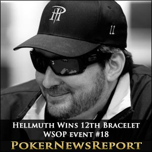 Phil Hellmuth Wins 12th Bracelet at WSOP event #18