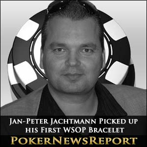 Jan-Peter Jachtmann Picked up his First WSOP Bracelet