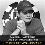 Sam Barnhart Is Big Stack After WSOP Event #48 Day 1